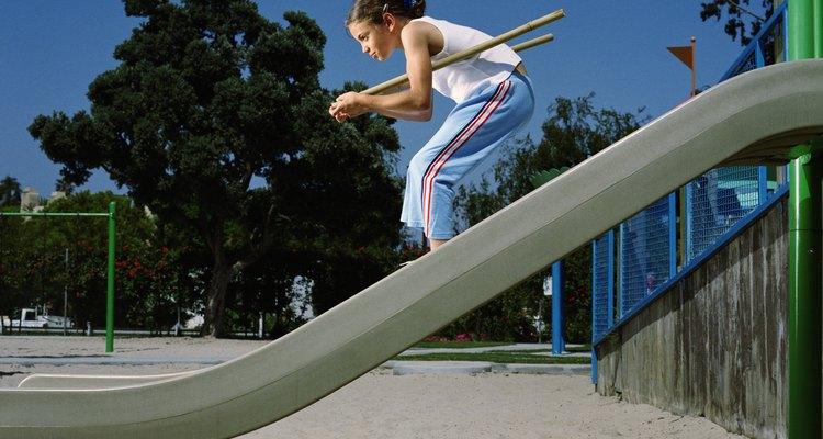 Uma variante do agachamento: a postura esquiador