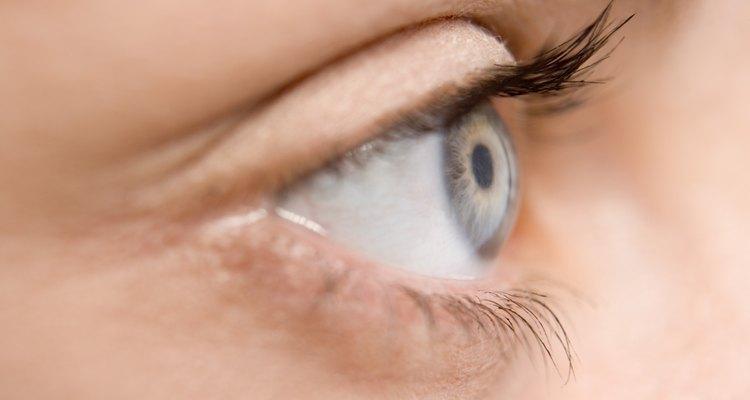 A exposição à luz forte pode ser desconfortável para o olho