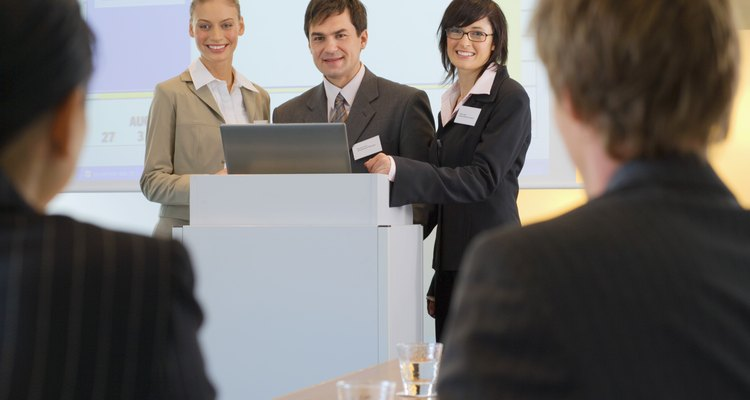 The mark of an excellent presentation is that it can be given even if the power fails.