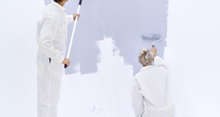 Elimina el moho antes de aplicar la pintura con fungicidas para evitar que el moho se reforme.