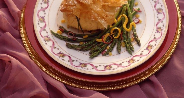 La masa de hojaldre se utiliza en platos salados y dulces.