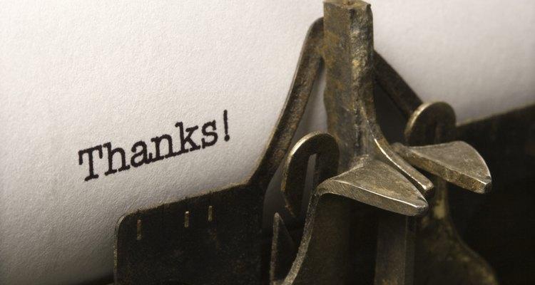 """""""Adios"""" y """"gracias"""" a menudo van de la mano."""