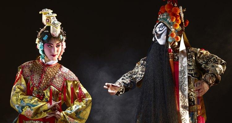 A dança chinesa pode ser dividida nas categorias folclórica e clássica