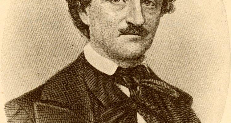 Edgar Allan Poe sofreu tragédias e perda quando era muito jovem.