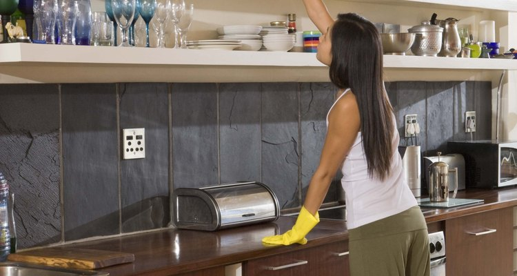 Perfectionist personalities can struggle with allowing a housekeeper to do their cleaning.