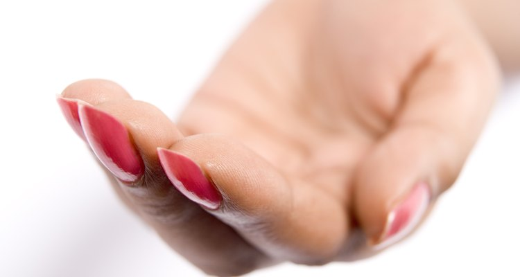Remove Calgel nails at home.