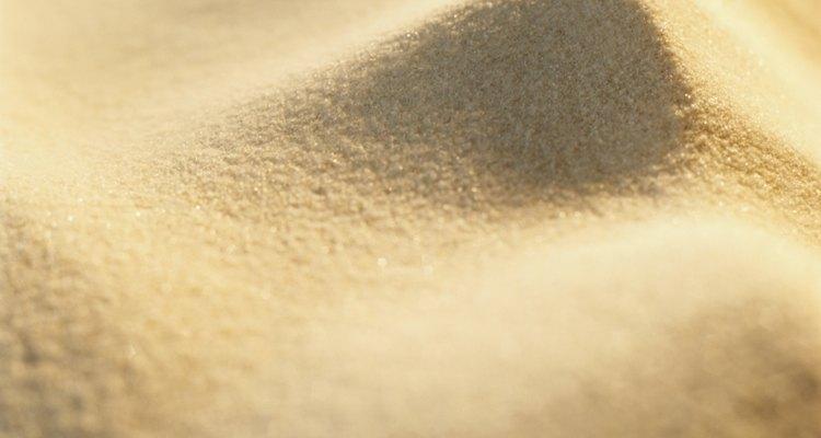 Calcule quanta areia irá precisar