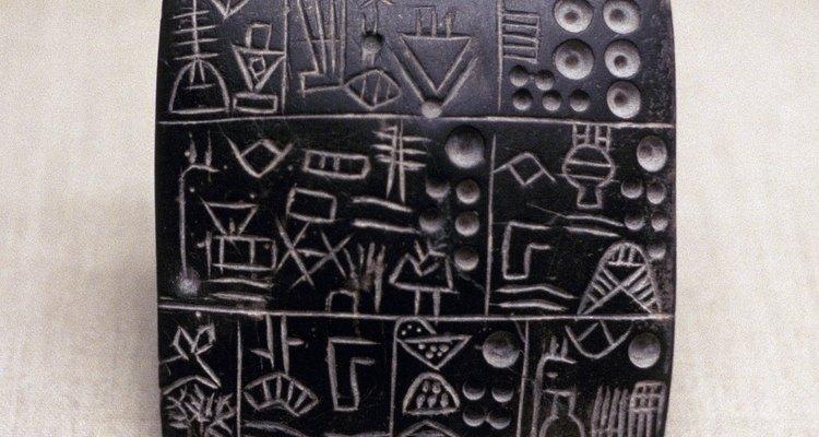 La lengua sumeria se originó en Mesopotamia, lo que es el actual Irak.