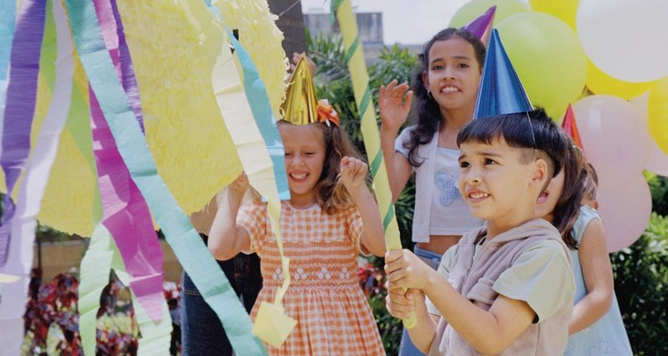 Make your own party pinata stick.
