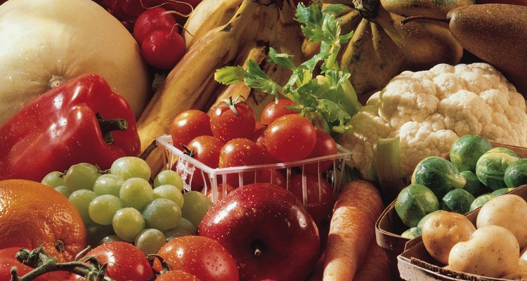 Las frutas y las verduras mantendrán a tu adolescente sano.