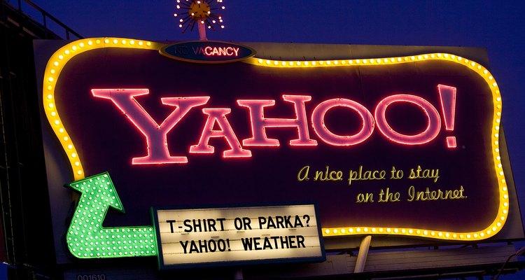 Outdoor do Yahoo! em São Francisco, Califórnia