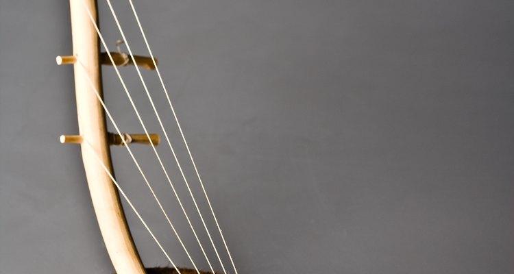A lira é parte da família das harpas