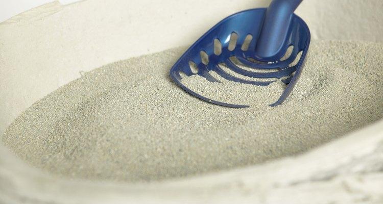 O material pode criar um entupimento difícil de remover dos canos