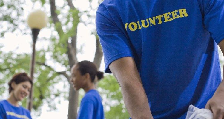 Los voluntarios trabajan duro y les gusta sentirse apreciados.