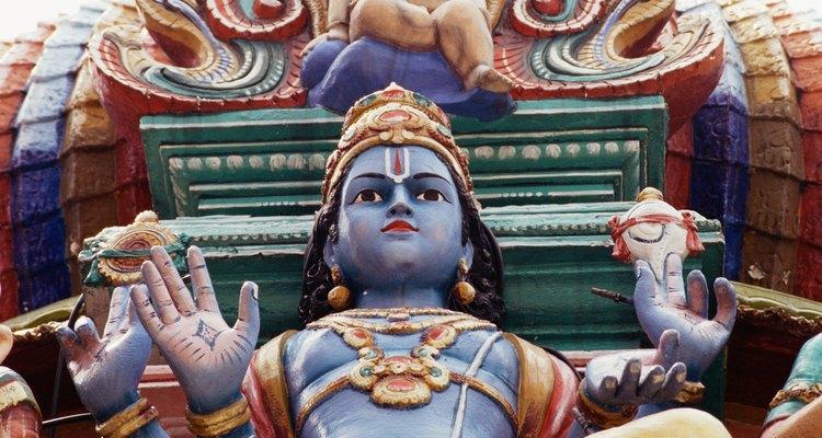 Los textos sagrados del hinduismo se encuentran entre los textos religiosos más antiguos de la historia.