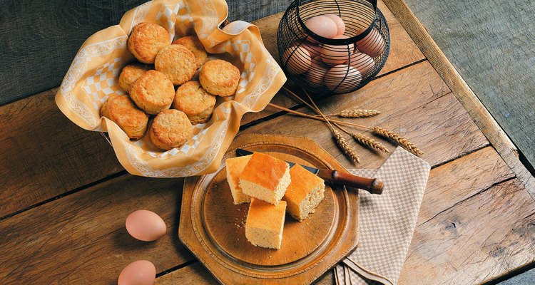 Biscuits and Corn Bread