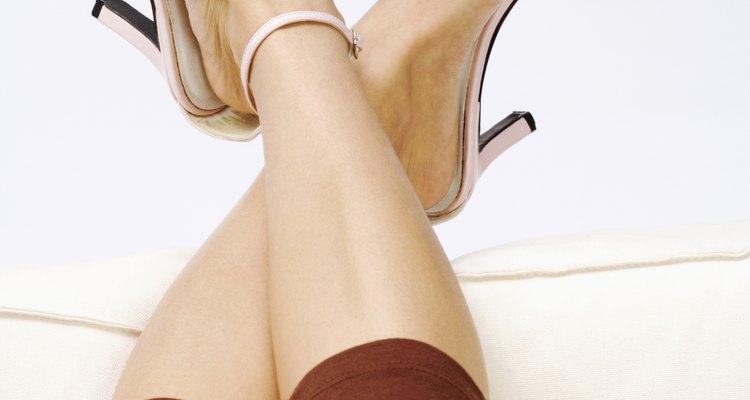 Human leg, close-up