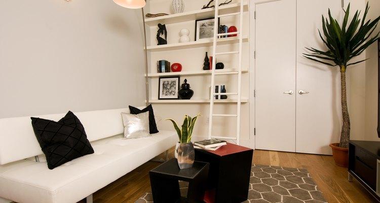Una alfombra de área puede darle terminación a una habitación.