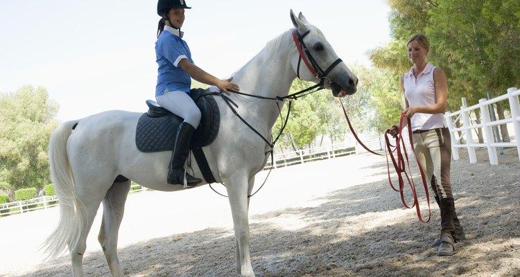 Aprender a andar à cavalo pode ser divertido