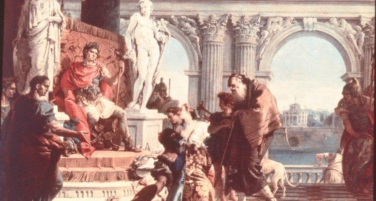 La decoración hogareña basada en estilos romanos incorpora los colores, equilibrio y apariencia de la antigua Roma.