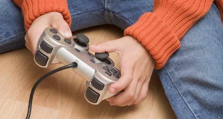 Lubrifique os botões analógicos para estender a vida útil do controle
