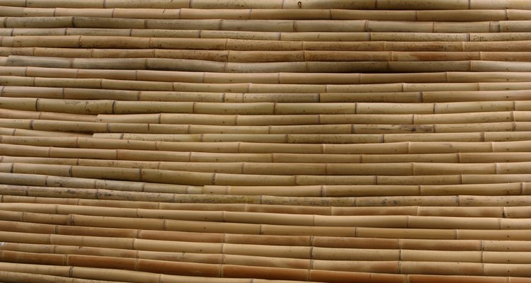 Bamboo has a tendency to split when drilled without proper precautions.