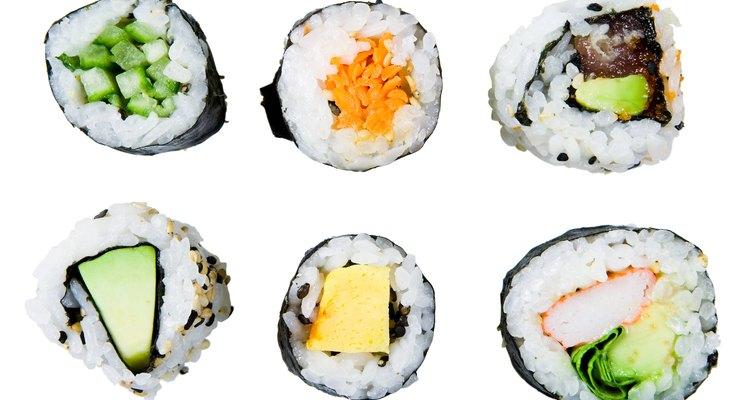 El sushi se considera una forma de arte en la cultura japonesa.