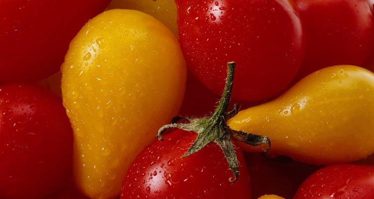 Tomates cereza.