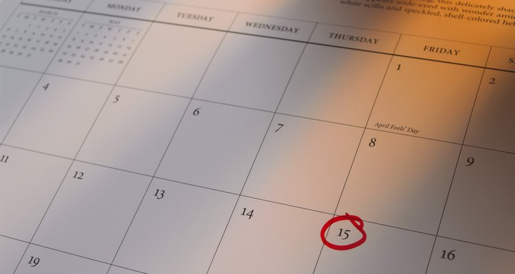Establece un calendario para completar tu plan.