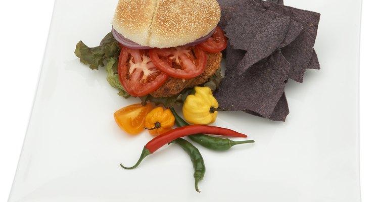 ¿Por qué no preparar una rica hamburguesa vegetariana?