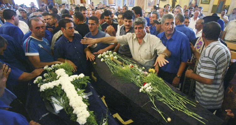 Arab Families Mourn Victims Of Shooting By Israeli Extremist
