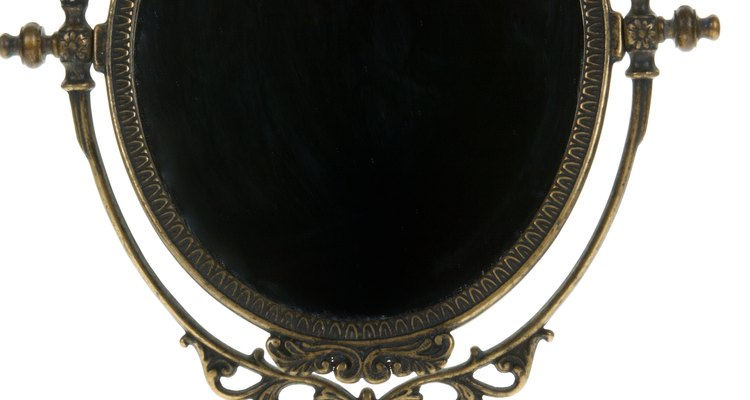 Restore a chipped antique mirror to its former glory.