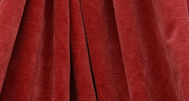 Stretch velvet looks like traditional velvet but acts like a knit fabric.
