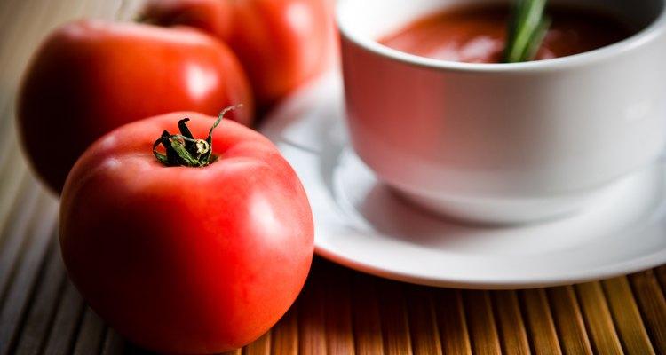 Nunca se es viejo para una sopa de tomate.