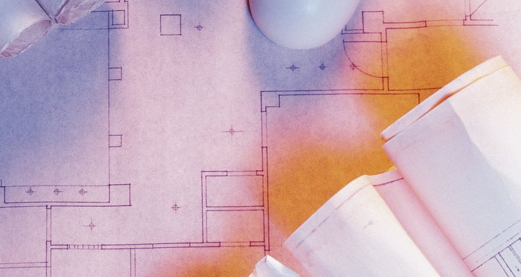 Floor plans are heavily stylised to allow for quick recognition of the various components by architects and construction overseers.