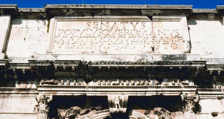 O Senado era uma ramificação do governo da República Romana