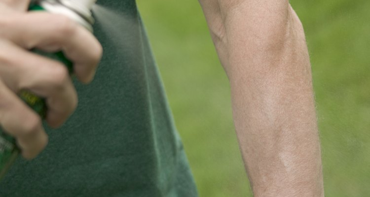 Insect repellents are used to keep insects away from you.