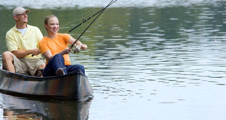 Uma boa pescaria requer uma boa isca