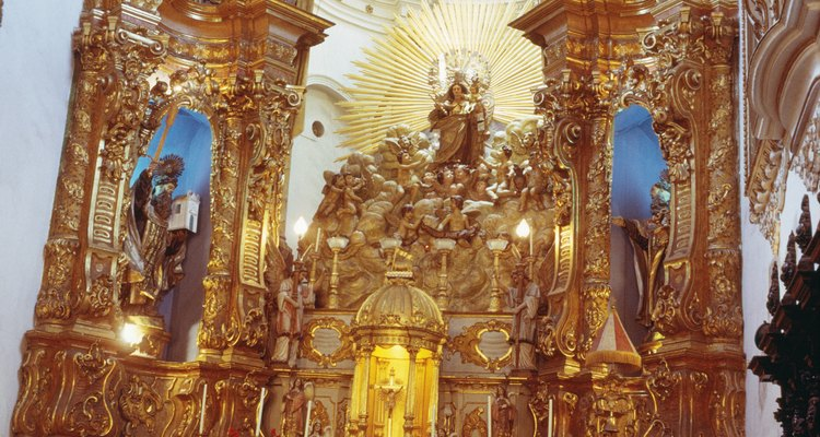Los altares son sitios sagrados para realizar plegarias.