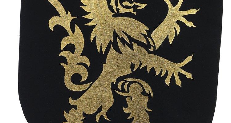 O leão é usado há tempos, como símbolo de força
