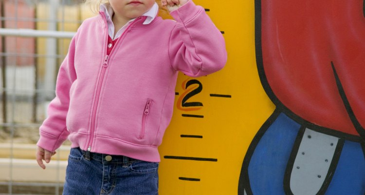 Los niños preescolares pueden aprender a medir usando objetos alrededor de ellos.