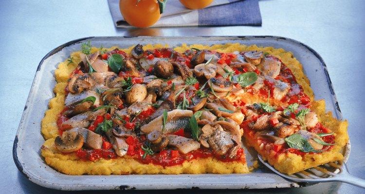 La polenta es un nutritivo plato principal que se remonta a la época romana.
