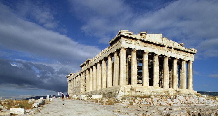 Athens was the most important ciy in ancient Greece.