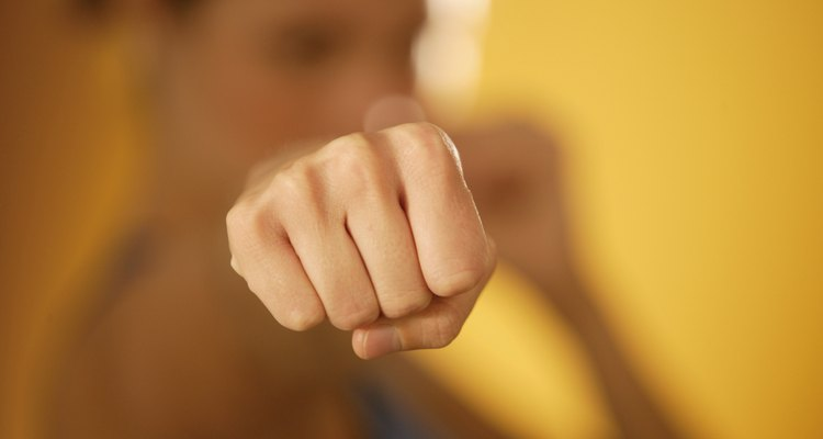 Harden your knuckles for better martial arts or boxing performance.