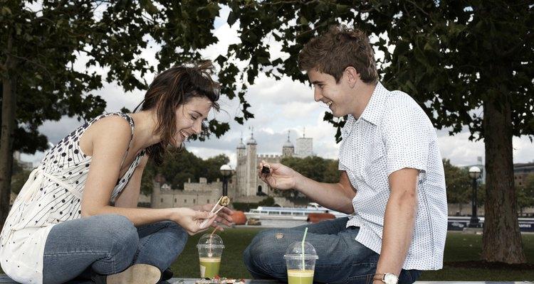 La comida más sencilla puede ser la más romántica para celebrar un aniversario.