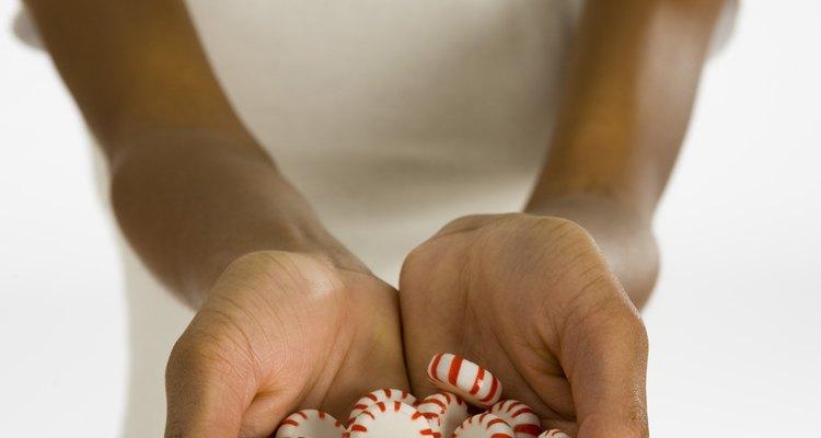 Los ingredientes de los caramelos de menta pueden variar entre marcas.
