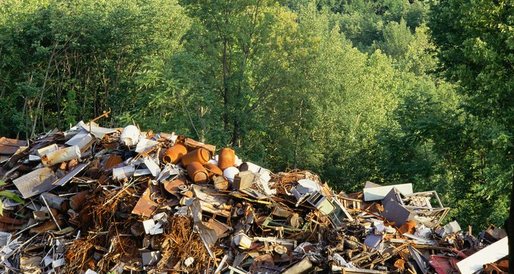 Landfill areas are increasingly more difficult to find for some communities since waste multiplies every day.