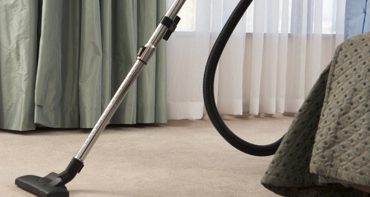 Las alfombras nuevas pueden producir pelusa, que debes eliminar.