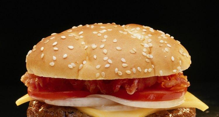 Repite el procedimiento con las 10 hamburguesas.
