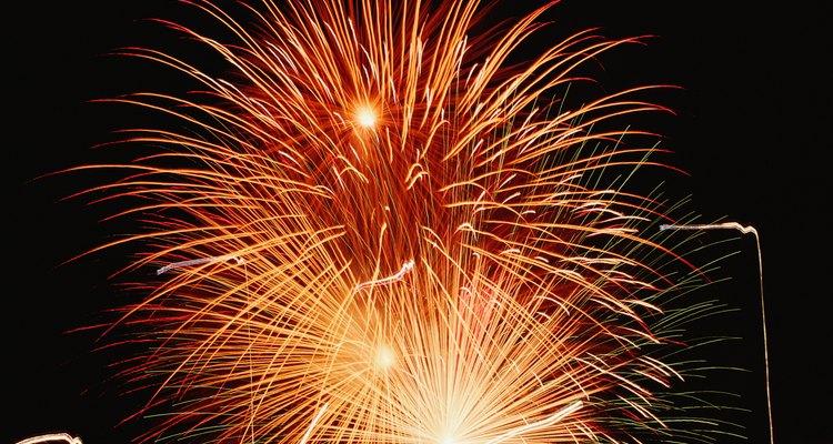 As precauções de segurança com os fogos de artifício não terminam com o show